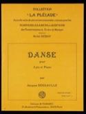 Danse Jacques Deshaulle Partition Xylophone - laflutedepan.com