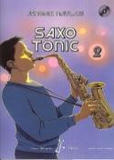 Saxo Tonic Volume 2 - Jérôme Naulais - Partition - laflutedepan.com