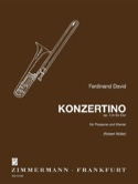 Konzertino Opus 4 In Es-Dur Ferdinand David Partition laflutedepan.com