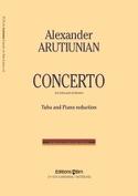 Concerto Alexander Arutiunian Partition Tuba - laflutedepan