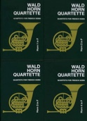 Wald horn quartette volume 1 Partition Cor - laflutedepan.com