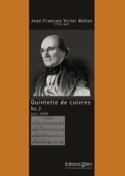Quintette de Cuivres N° 3 Jean François Victor Bellon laflutedepan.com