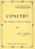 Concert Launy Gröndahl Partition Trombone - laflutedepan.com