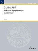 Morceau Symphonique Alexandre Guilmant Partition laflutedepan.com