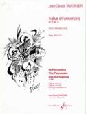 Thème Et Variations N° 1 Et 2 - laflutedepan.com