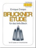 Bruckner Etude Enrique Crespo Partition Tuba - laflutedepan.com