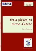 Trois Pièces En Forme D' Etude - Gérard Lecointe - laflutedepan.com