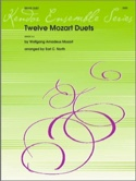 12 Mozart Duets - Wolfgang Amadeus Mozart - laflutedepan.com