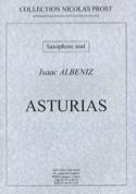 Asturias Isaac Albeniz Partition Saxophone - laflutedepan.com