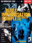 Blues Improvisation Complete C Treble Jeff Harrington laflutedepan.com