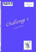 Challenge 1 Jacques Delécluse Partition Timbales - laflutedepan.com
