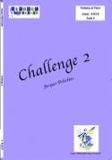 Challenge 2 Jacques Delécluse Partition Timbales - laflutedepan.com