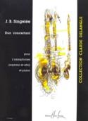 Duo Concertant Jean-Baptiste Singelée Partition laflutedepan.com