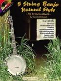 5 String Banjo Natural Style Partition laflutedepan.com