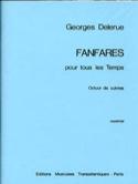 Fanfares Pour Tous les Temps Georges Delerue laflutedepan.com