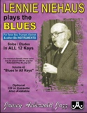 Plays The Blues Saxo Bb METHODE AEBERSOLD Partition laflutedepan.com