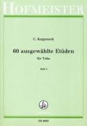 60 Ausgewählte Etüden Heft 1 Georg Kopprasch laflutedepan.com