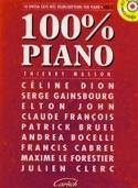 100% piano volume 1 Partition Chansons françaises - laflutedepan.com