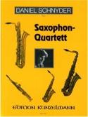 Saxophon-Quartett Daniel Schnyder Partition laflutedepan.com