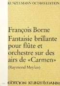 Fantaisie Brillante Sur Des Airs de Carmen - laflutedepan.com