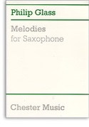 Melodies Philip Glass Partition Saxophone - laflutedepan.com