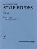International Style Etudes Volume 1 Alice Gomez laflutedepan.com