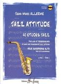 Jazz Attitude Livre 1 - 40 Etudes Jazz - laflutedepan.com