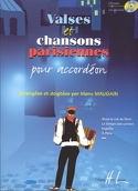 Valses Et Chansons Parisiennes Partition laflutedepan.com