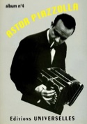 Album N° 4 Astor Piazzolla Partition Musique du monde - laflutedepan