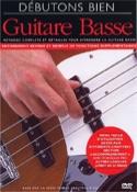 DVD - Débutons Bien Guitare Basse Partition laflutedepan.com