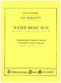 Water Music in D HAENDEL Partition Trompette - laflutedepan.com
