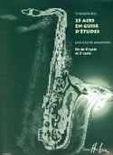 25 Airs en guise d'étude - Christophe Bois - laflutedepan.com