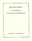 Blue Lake Fantasies David R. Gillingham Partition laflutedepan.com