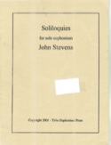 Soliloquies John Stevens Partition Tuba - laflutedepan.com