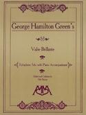 Valse Brillante George Hamilton Green Partition laflutedepan.com