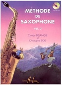 Méthode de Saxophone Volume 2 DELANGLE - BOIS laflutedepan.com