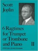 6 Ragtimes Volume 2 Scott Joplin Partition laflutedepan.com