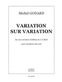Variation Sur Variation Michel Godard Partition laflutedepan.com