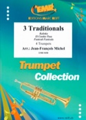 3 Traditionals Partition Trompette - laflutedepan.com