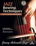 Jazz Bowing Techniques METHODE AEBERSOLD Partition laflutedepan.com