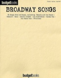 Budget books - Broadway songs Partition laflutedepan.com