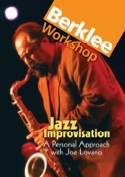 DVD - Joe Lovano Improvisation Joe Lovano Partition laflutedepan.com