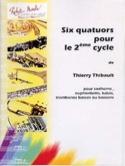 Six Quatuors Pour le 2e Cycle Thierry Thibault laflutedepan.com