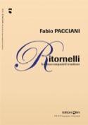Ritornelli Fabio Pacciani Partition Trombone - laflutedepan.com
