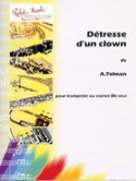 Détresse D' Un Clown - André Telman - Partition - laflutedepan.com