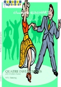 Quatre Instantanés N° 2 Dancing Christophe Guichard laflutedepan.com