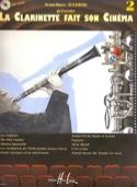 La Clarinette fait son cinéma volume 2 Partition laflutedepan.com