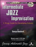 Intermediate Jazz Improvisation avec 2 CDs et 1 CD-Rom laflutedepan.com
