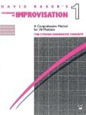 Techniques Of Improvisation 1 David Baker Partition laflutedepan.com