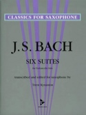 Six Suites For Violoncello Solo BACH Partition laflutedepan.com